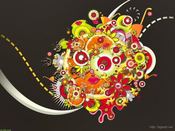 Graphic Design Abstract Art