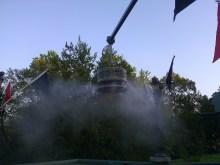 Overhead Fog Machine