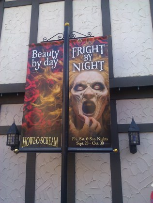 Howl-O-Scream Sign