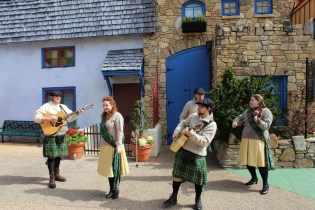A new band was out and about in Killarney