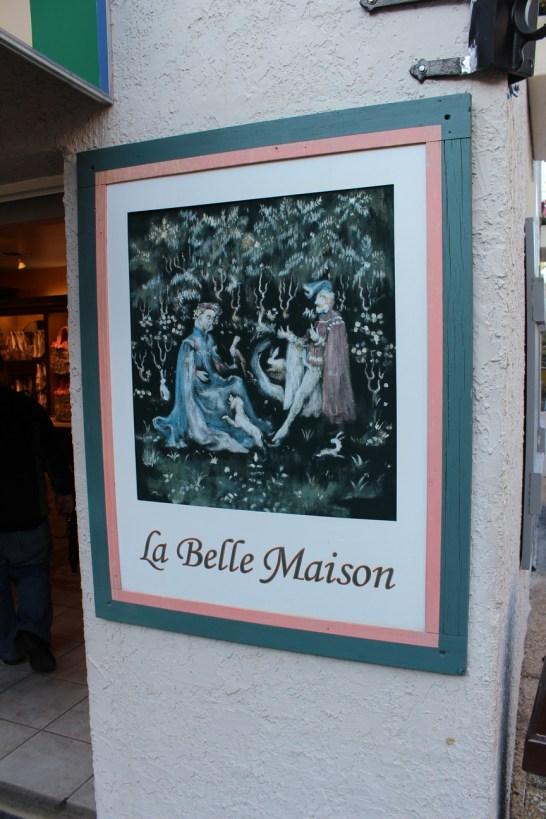 Main La Belle Maison sign