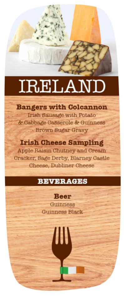 Bangers with Colcannon sounds rather delicious