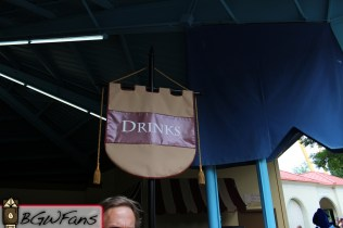 the drinks banner