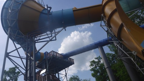 Tornado 24 Horizontal Funnel and upper platform