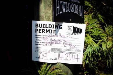 The building permit for said towers