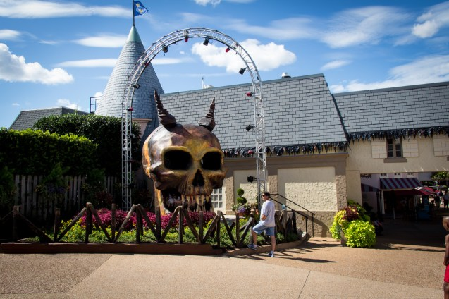 The Demon Street DJ skull