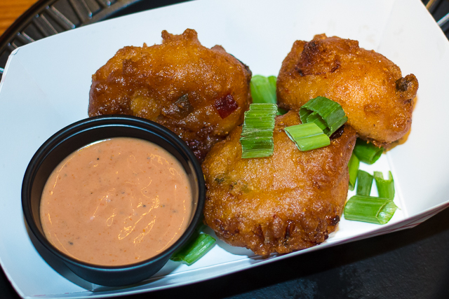 Busch Gardens Williamsburg Food and Wine Festival 2016 Gamba Fritters