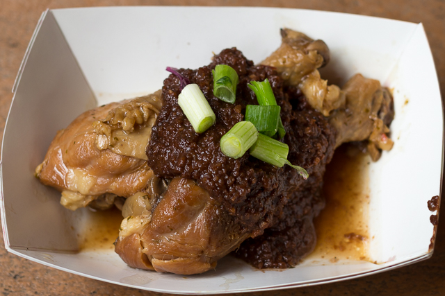 Busch Gardens Williamsburg Food and Wine Festival 2016 Chicken Adobo with Sauce Mole