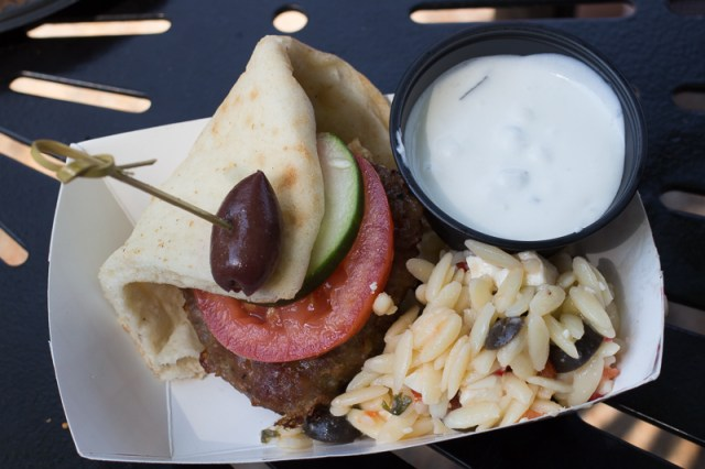Busch Gardens Williamsburg Food and Wine Festival 2017 Lamb Burger Slider