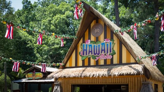 Busch Gardens Williamsburg Food and Wine Festival 2017 Hawaii
