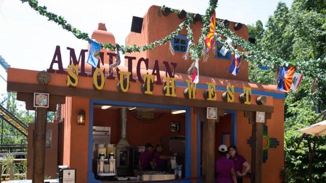 Busch Gardens Williamsburg Food and Wine Festival 2017 American Southwest