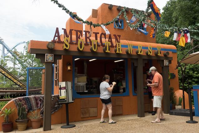 Busch Gardens Williamsburg Food and Wine Festival 2018 American Southwest