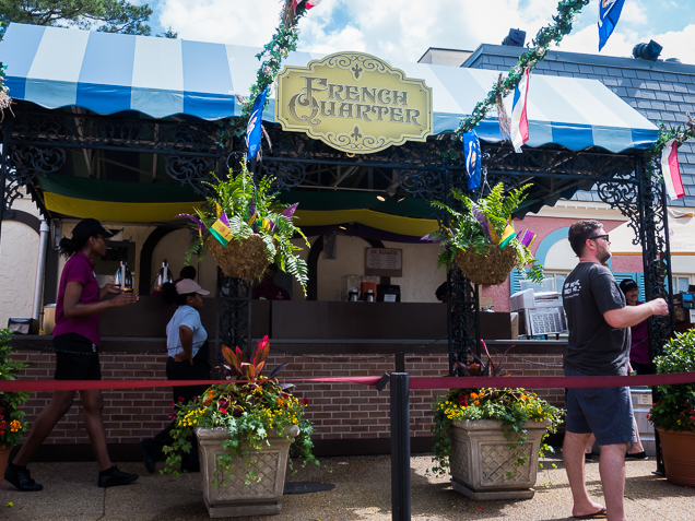 Busch Gardens Williamsburg Food and Wine Festival 2018 French Quarter