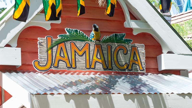 Busch Gardens Williamsburg Food and Wine Festival 2018 Jamaica