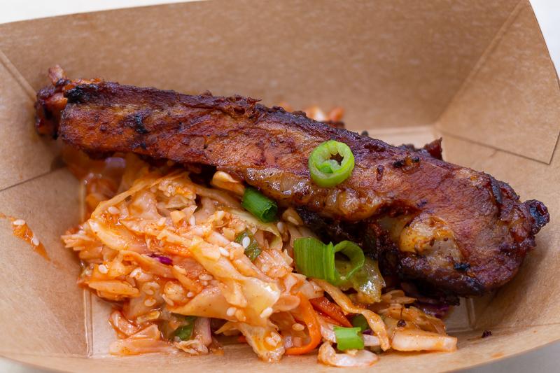 Busch Gardens Williamsburg Food and Wine Festival 2019 Korean BBQ Pork Ribs