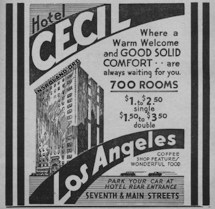 Cecil Hotel Los Angeles