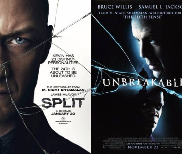 M Night Shyamalan Announces Official Split Unbreakable Sequel Glass