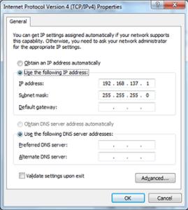 wifi miniport setting