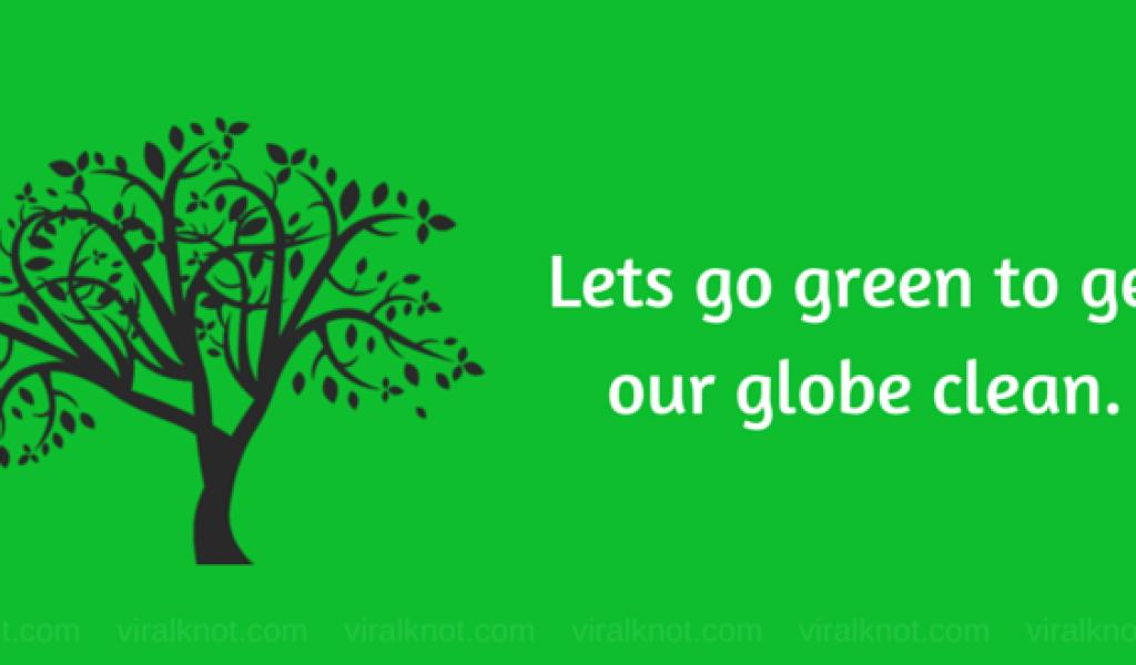 Go Green Slogan Poster Environmental Slogans Pinterest (8) - Modern