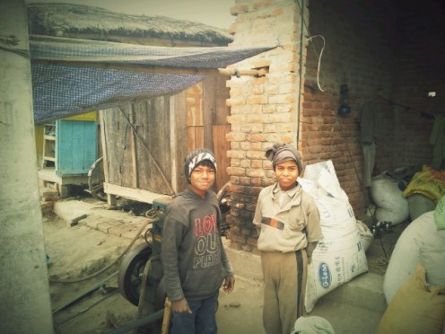 Kids in Bhagmalpur
