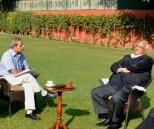 Interviewing mr Pawar