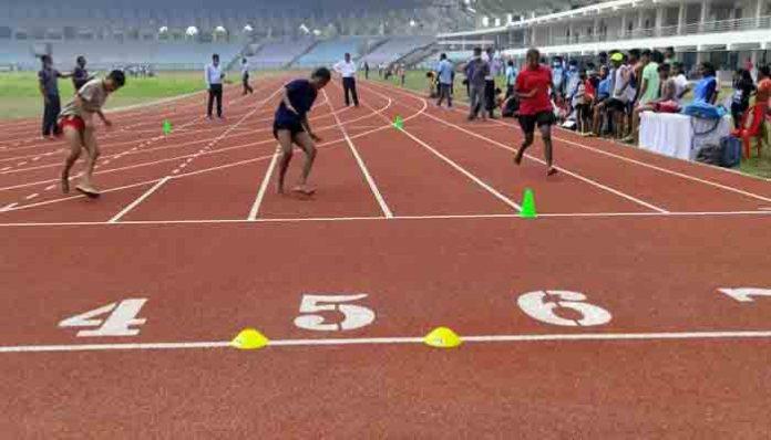 खेल अकादमी के लिए चयन ट्रायल में राज्य के 27 जिलों से 665 खिलाड़ियों ने लिया भाग
