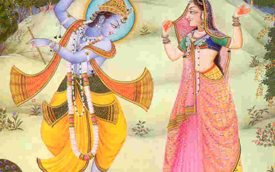 COLLECT YOUR LOVE AND OFFER IT TO RADHA AND KRSNA