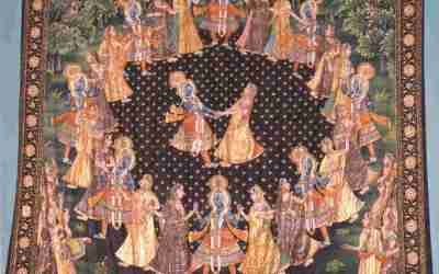 HOW DID THE GOPIS FEEL WHEN KRSNA REAPPEARED AFTER DISAPPEARING FROM THE RASA DANCE?