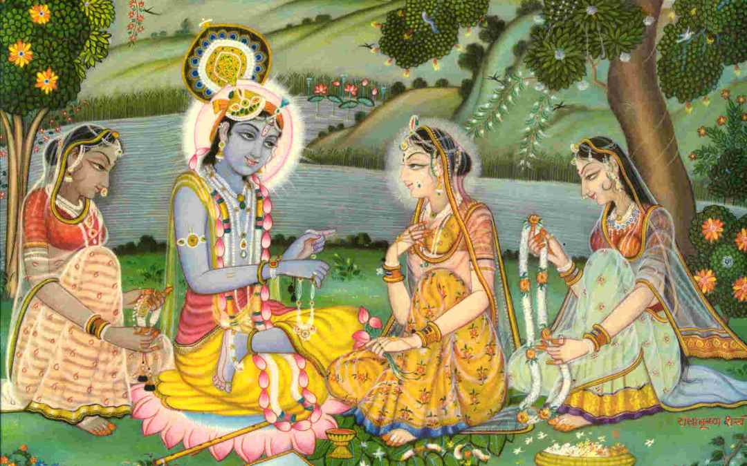 HOW DOES RADHARANI'S SVARUPA SHAKTI REJUVENATE EVERYONE?