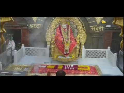 Shirdi sai baba dhoop aarti darshan-16/11/2020