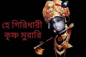 হে গিরিধারী কৃষ্ণ মুরারি || He Giridhari Krishna Murari