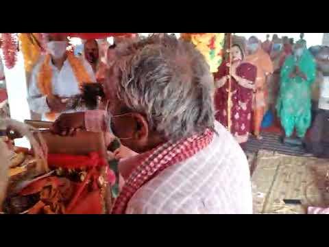 Shri Banke bihari ji ki Aarti🙏🙏#Baba balakrupi mandir Kuriah🙏🙏🎎🎎