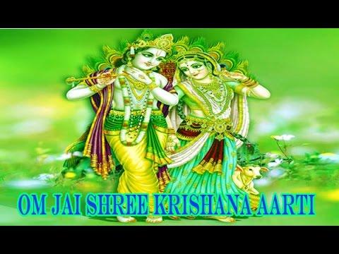 Popular Krishna Aarti   Aarti Kunj Bihari Ki Shree Girdhar Krishna Murari Ki