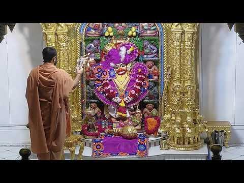 Sandhya Aarti Darshan Salangpur Date : 14-07-2021