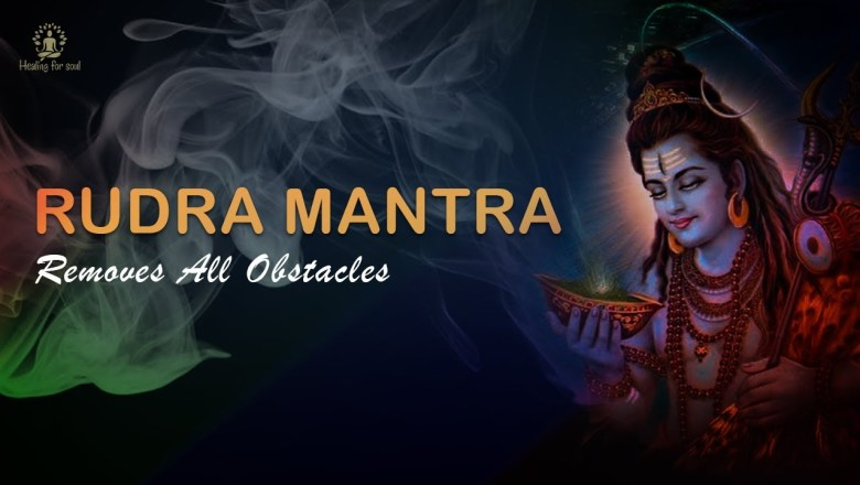 Powerful Shiv Mantra – Om Namo Bhagwate Rudraaya | 108 Times With Lyrics | REMOVES ALL OBSTACLES