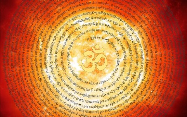 Gayatri Mantra with Meaning in Hindi