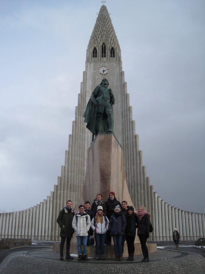 Leif the Lucky and Hallgrimskirkja