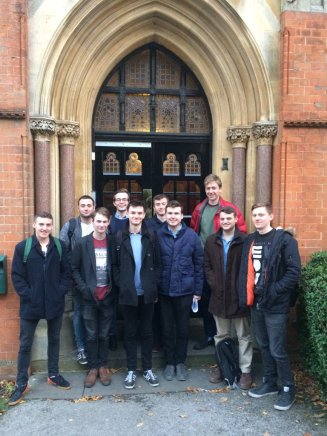 Students at Highbury Hall