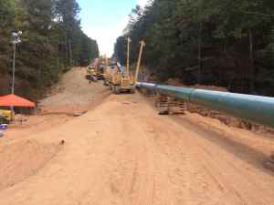 Bypass pipe construction - Photo from EPA On-Scene Coordinator website