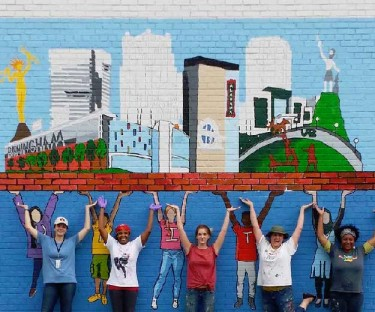 A Guide to your Fave Bham Murals