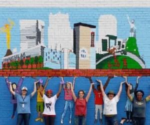 YWCA, murals, birmingham