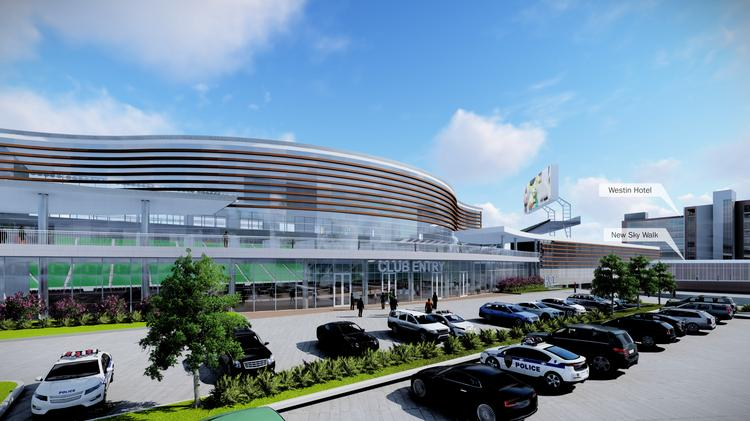 New Stadium and Significant Renovations Proposed for #BJCC
