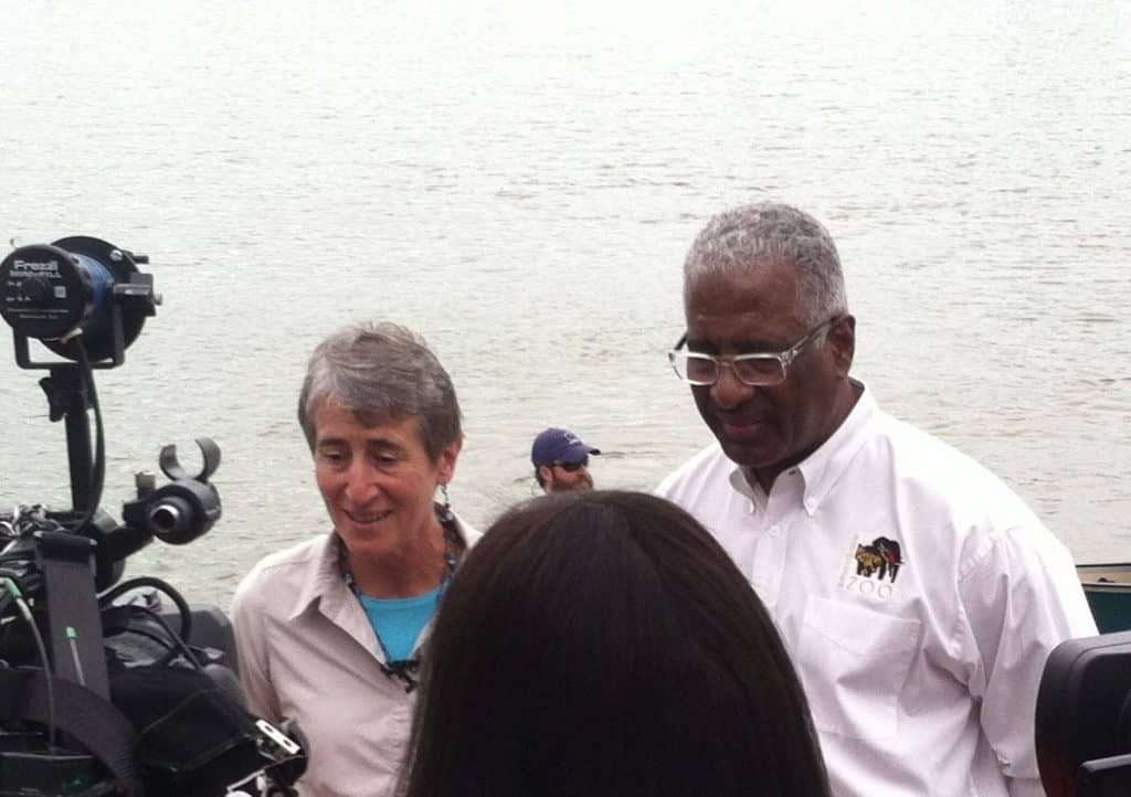 Welcome Interior Secretary Jewell to Anniston and Birmingham
