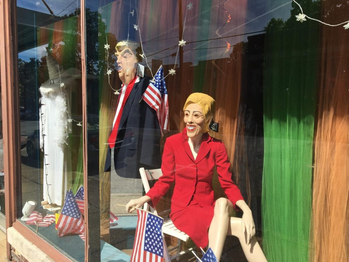 Breaking: Trump and Clinton spotted in Birmingham's Forest Park neighborhood
