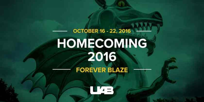 UAB Homecoming 2016