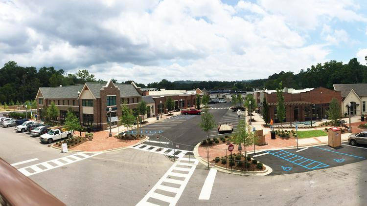 Retail Going up in Mountain Brook – Lane Parke