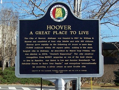 4 Reasons why Hoover was ranked in the Top 50 Best Places to Live