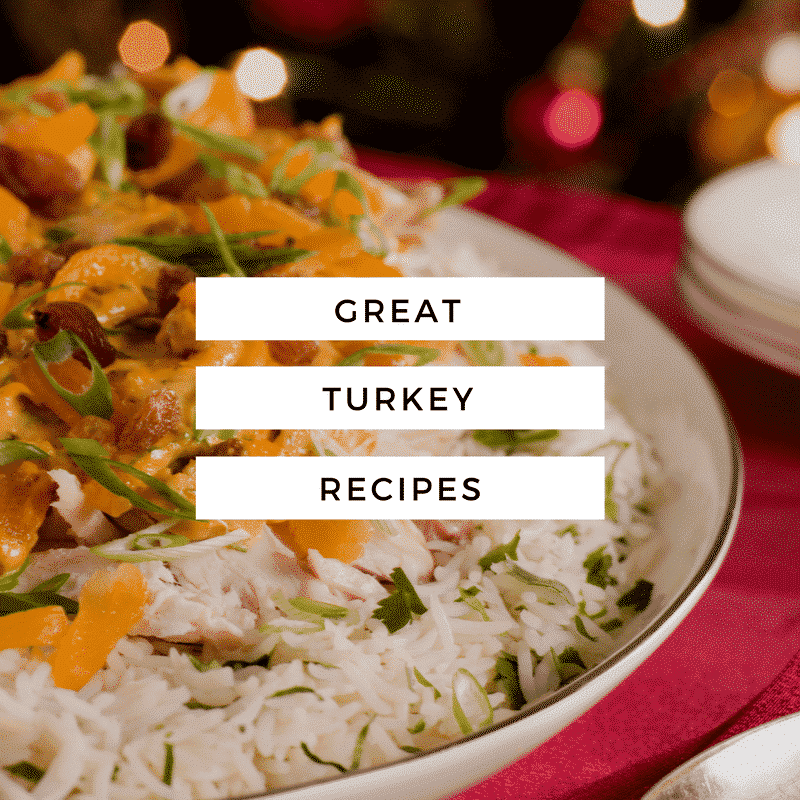 Try these updated recipes for all that leftover turkey