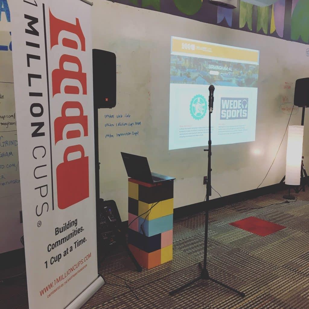 1MillionCups Birmingham – Nov. 16, 2016