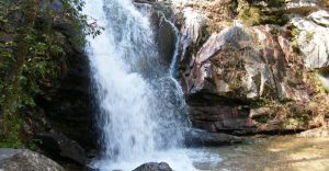 Photo of Peavine Falls at Oak Mountain State Park courtesy of Alabama State Parks.